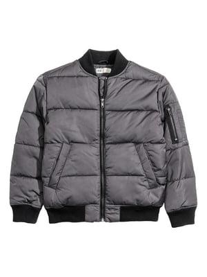 Куртка сіра | 4550579