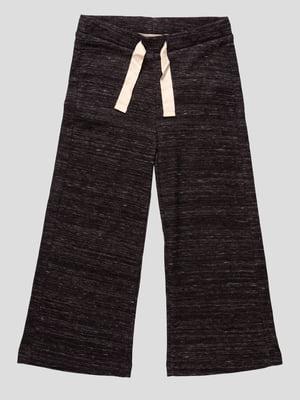 Штани темно-коричневі меланжеві | 4520329