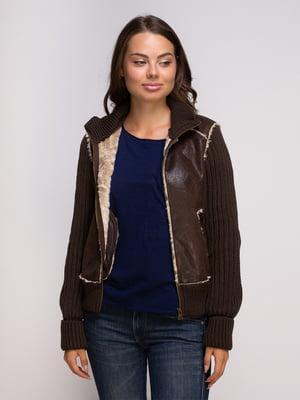 Куртка коричневая   4508823