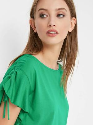 Блуза зеленая | 4554874