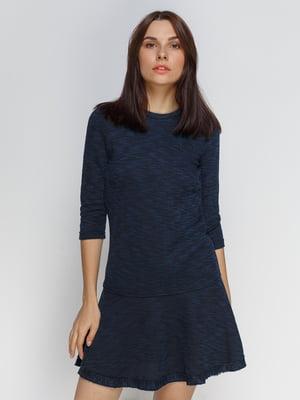 Платье темно-синее | 4507256
