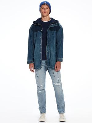 Куртка синяя джинсовая | 4527418