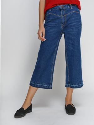 Капри синие джинсовые | 4507095