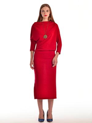 Платье цвета марсала | 4556675