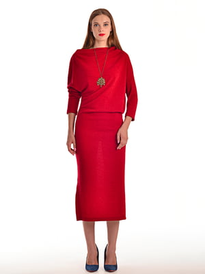Сукня кольору марсала | 4556675