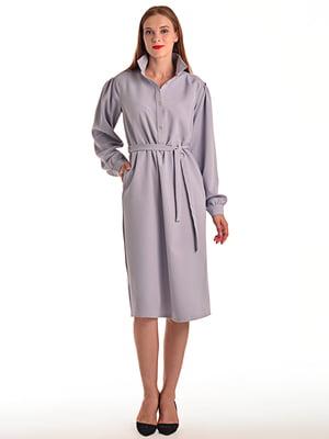 Платье серое | 4556676