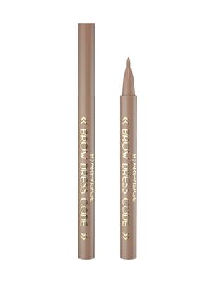 Фломастер для бровей стойкий - №801 (12 мл) | 4064496
