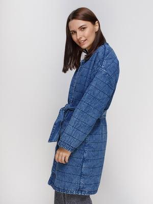Пальто синее | 4511292