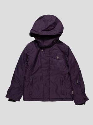 Куртка темно-фіолетова | 153246