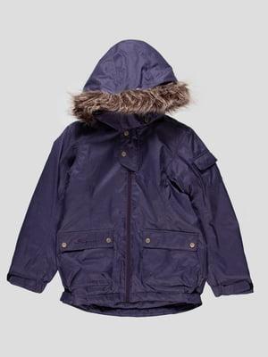 Куртка темно-бузкова | 4545901