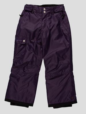 Штани темно-фіолетові | 164887