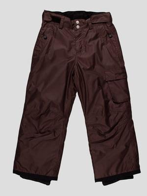 Штани коричневі | 164888