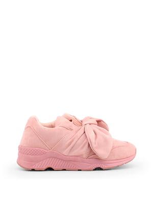 Кроссовки розовые   4563451