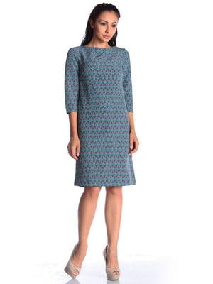 Платье в принт | 4563138