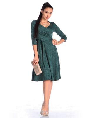 Платье темно-изумрудного цвета | 4563155