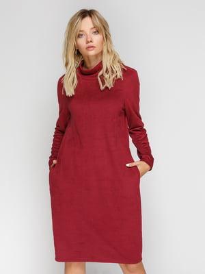 Сукня бордова | 4548481