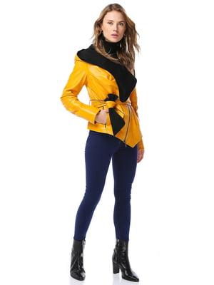Куртка желтая   4560524