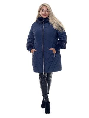 Пальто сапфирового цвета | 3750851