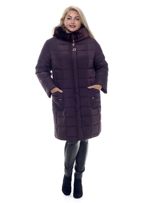 Пальто темно-вишневого цвета | 4573431