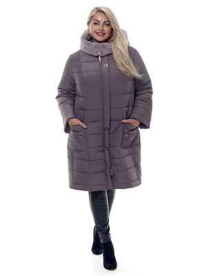 Пальто темно-бежевое | 4573432