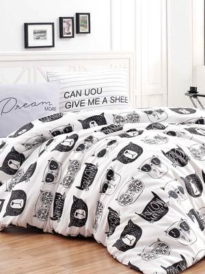 Комплект постельного белья двуспальный (евро) | 4566729