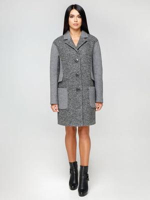 Пальто темно-сіре | 4531088