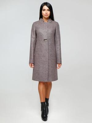 Пальто сиреневое | 4531090