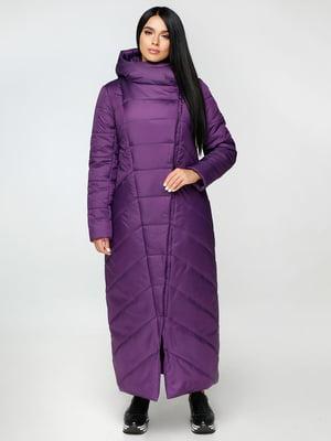 Пальто фиолетовое | 4531070