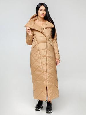 Пальто песочного цвета | 4531078
