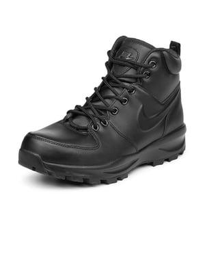 Ботинки черные Manoa Leather | 4574076