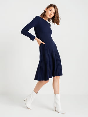 Платье темно-синее | 4574886