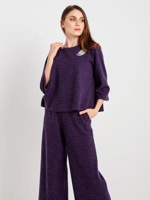 Джемпер фиолетовый | 4574945