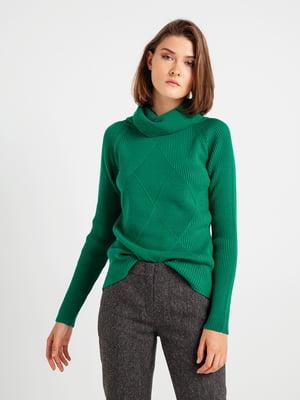 Джемпер зеленый | 4574988