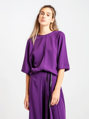 Блуза фиолетовая | 4575043