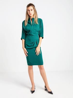 Жакет темно-зелений | 4575059