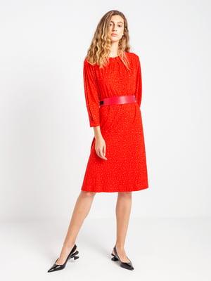 Платье красное | 4575067