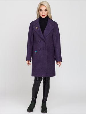 Пальто сливового кольору | 4575379