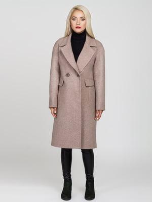 Пальто кольору мокко | 4575383