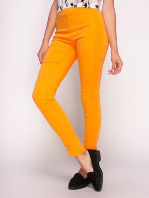 Брюки оранжевые | 4531362