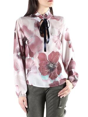 Блуза в цветочный принт | 4574830