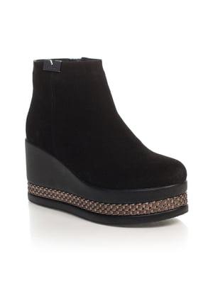 Ботинки черные   4567424
