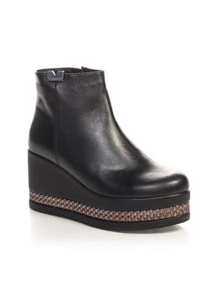 Ботинки черные   4567423