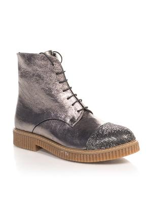 Ботинки серебристые | 4567406