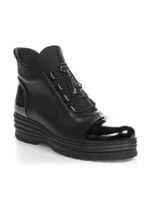 Ботинки черные   4567415