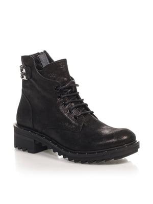 Ботинки черные | 4567434
