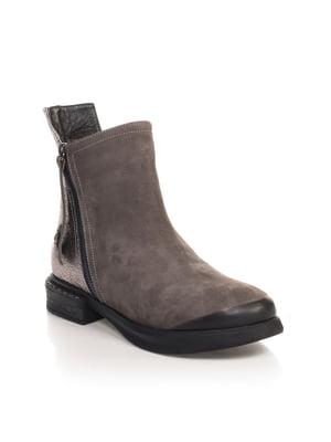 Ботинки серые | 4567413
