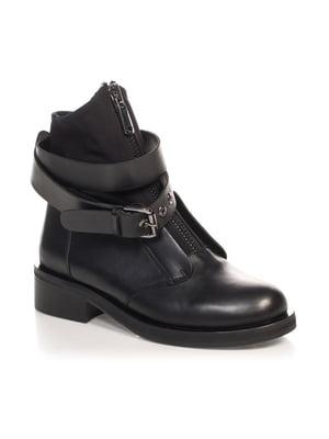 Ботинки черные   4567405