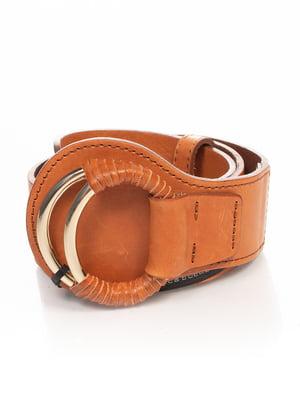 Ремень коричневый | 4506475