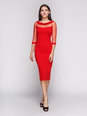 Платье красное | 3851943
