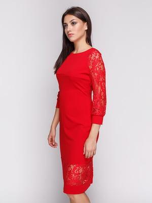 Платье красное | 3863231